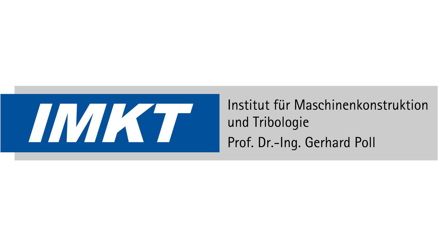 Logo Maschinenkonstruktion und Tribologie