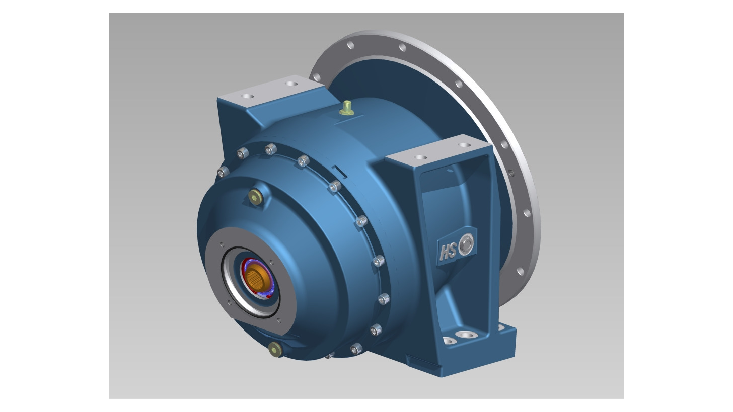 Logo Gearboxes for concrete truck mixers