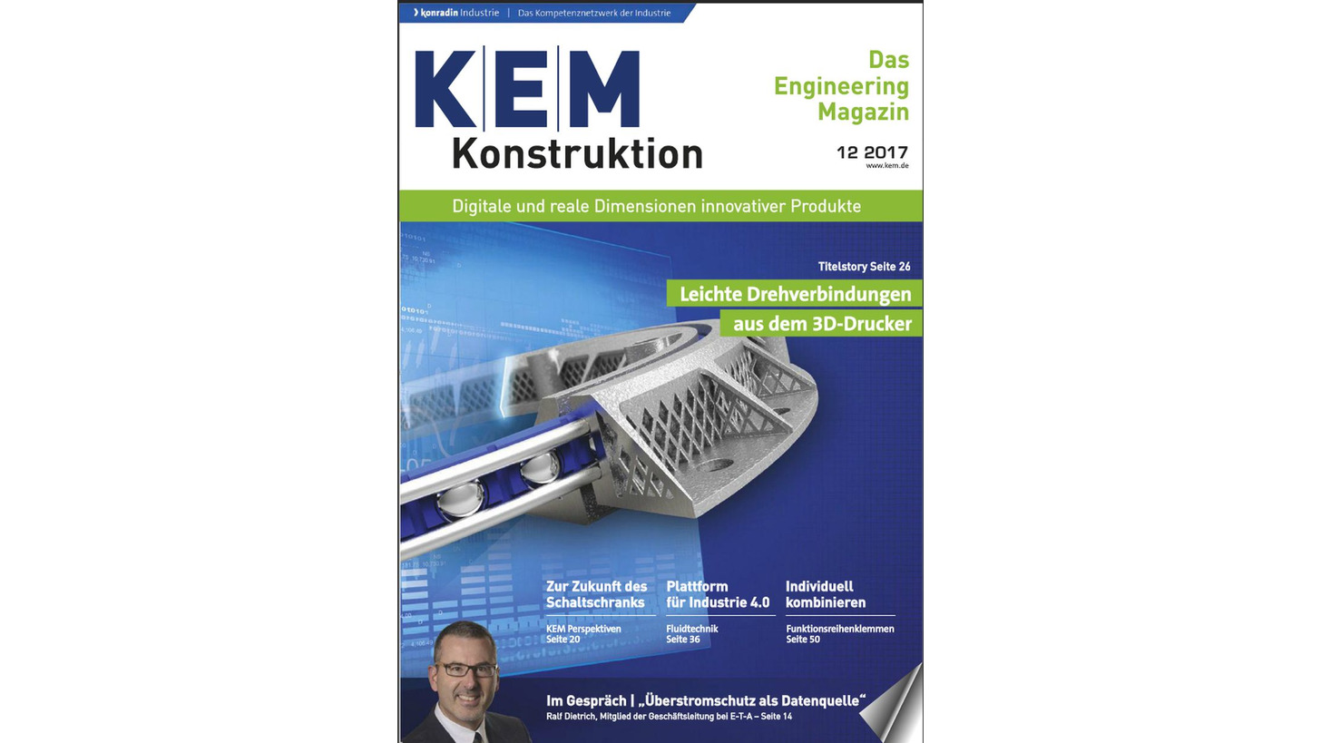 Logo KEM Das Engineering Magazin