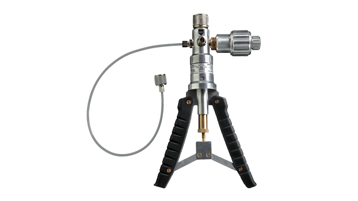 Logo LR-Cal LPP 60 Kalibrier-Handtestpumpe, pneumatisch, -0,98...+60 bar