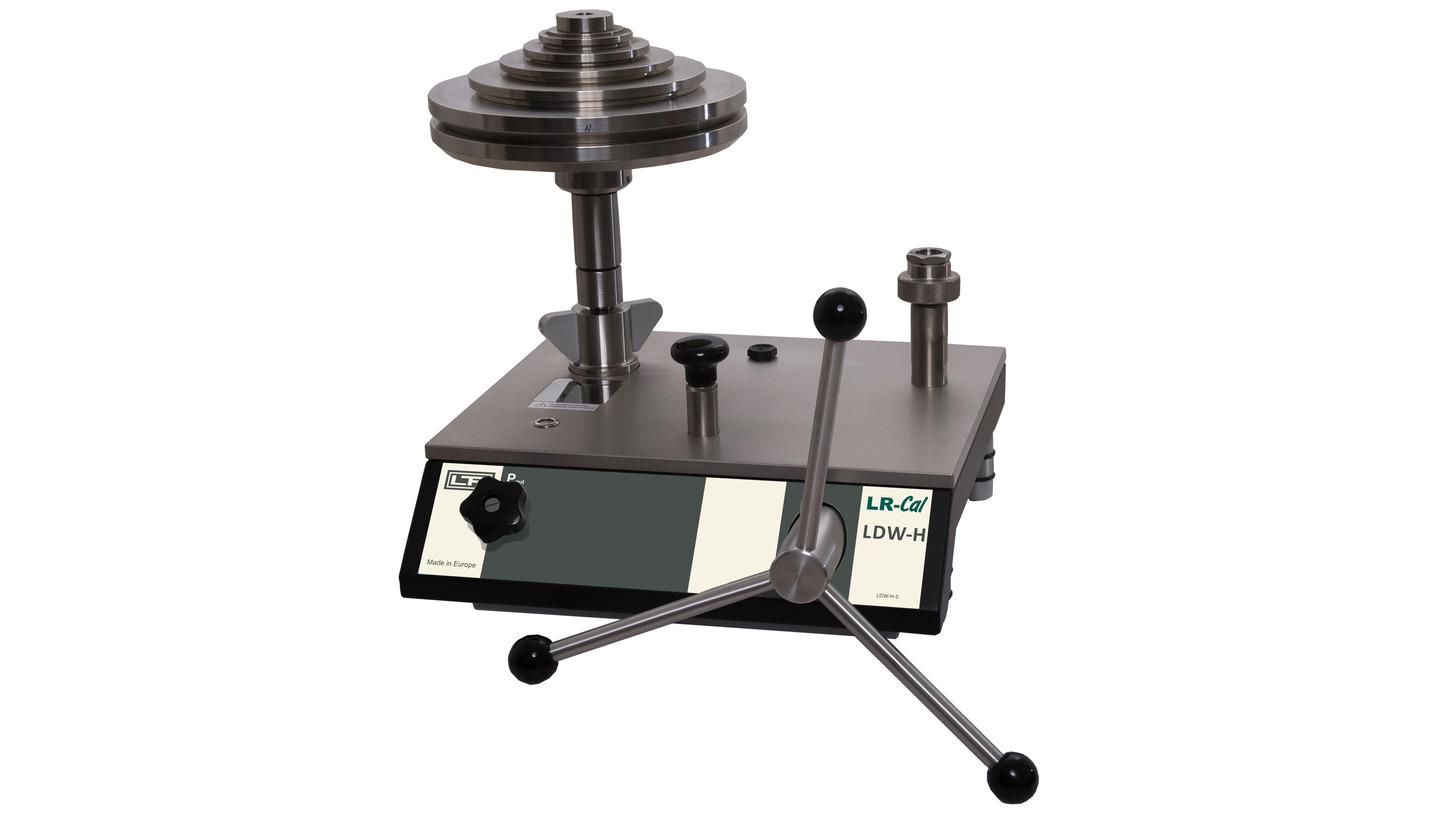 Logo LR-Cal LDW-HK Deadweight Tester / Pressure Balance, hydraulic