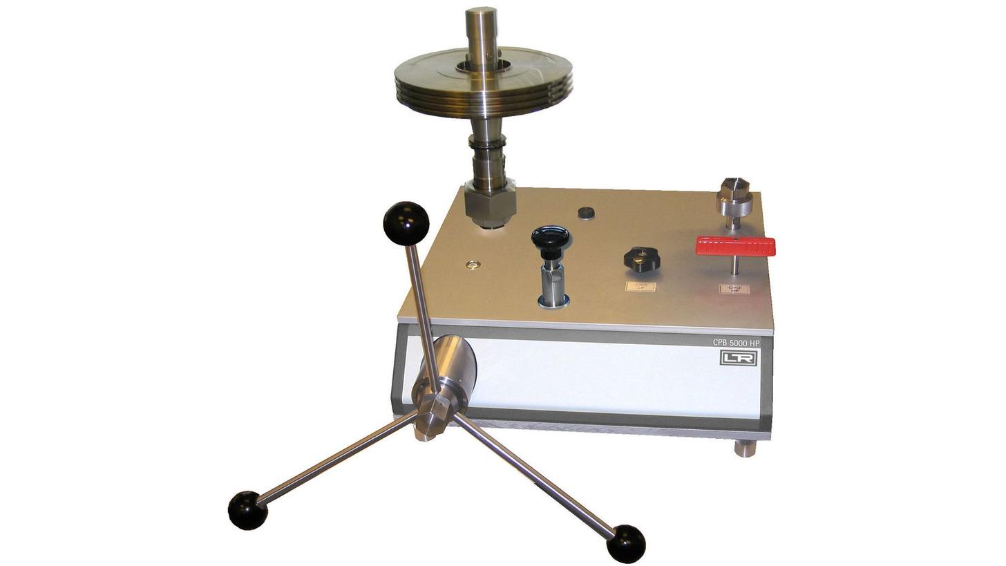 Logo LR-Cal CPB5000-HP Deadweight Tester / Pressure Balance High Pressures