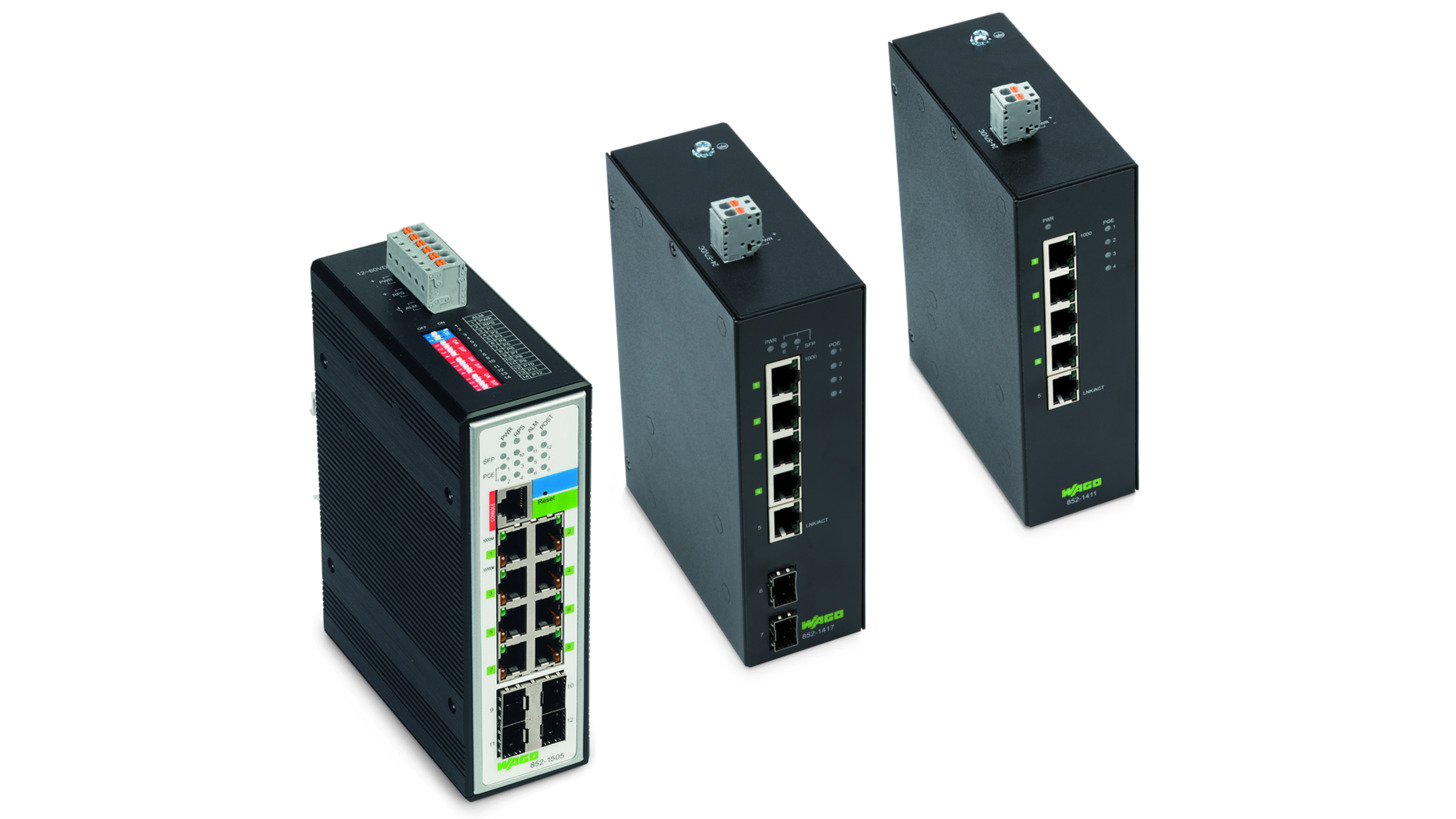 Logo Power-over-Ethernet  (PoE+) Switches