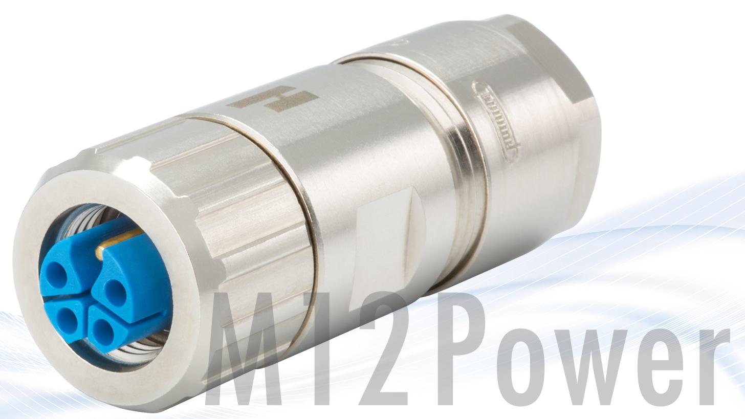 Logo M12 Power Steckverbinder