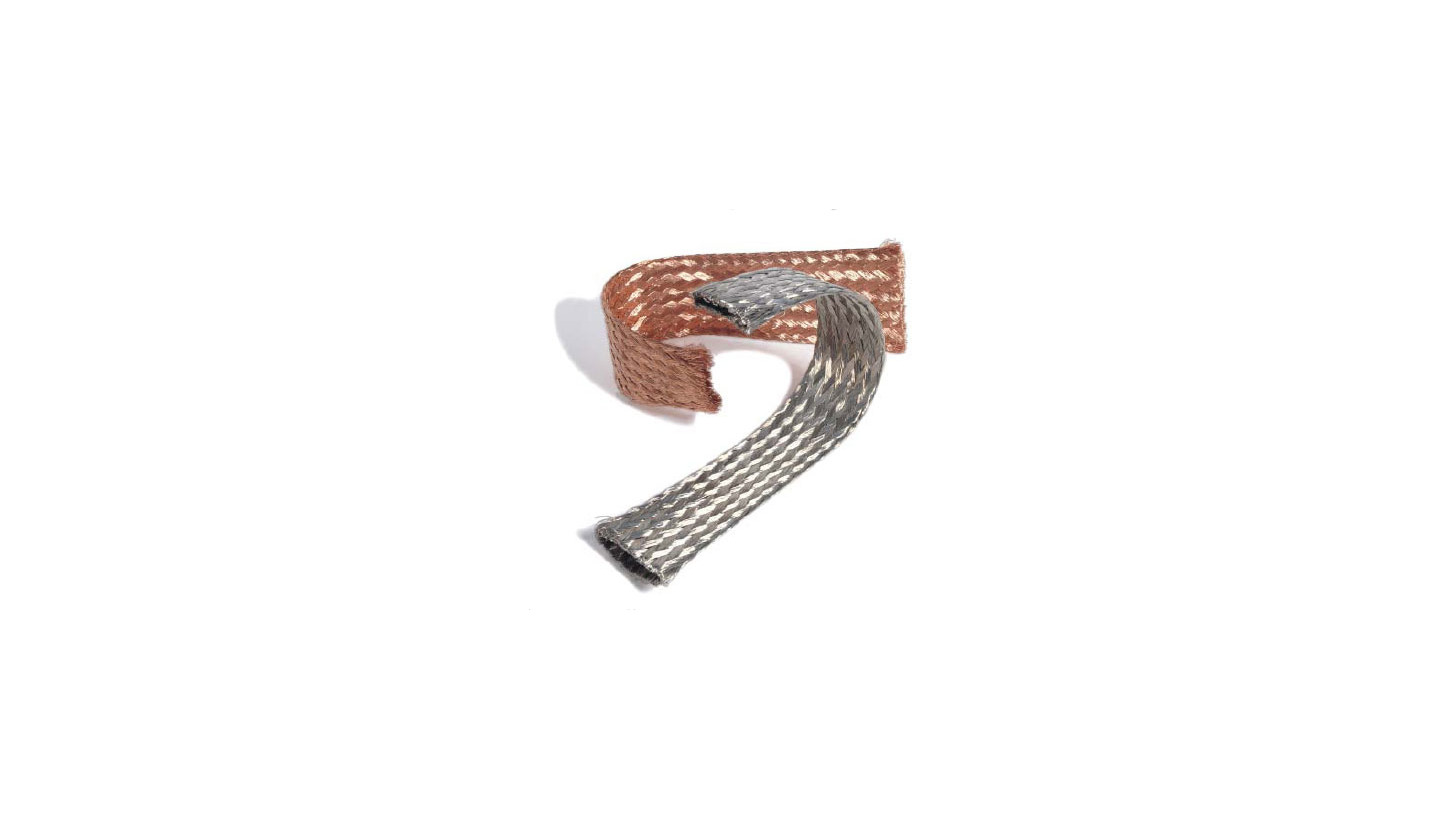 Logo Braided Copper Tapes-highly flexible