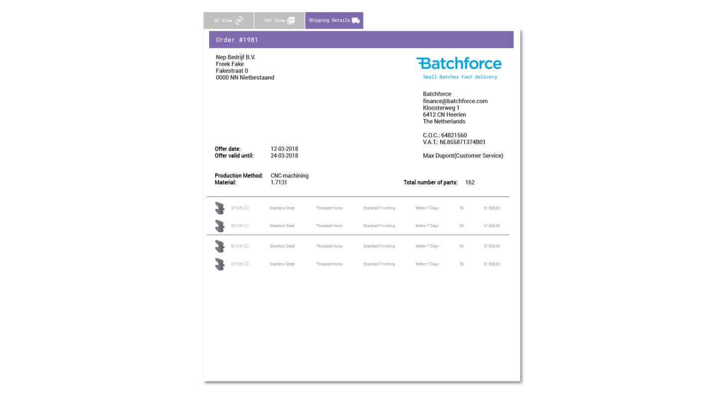 Logo Batchforce V2
