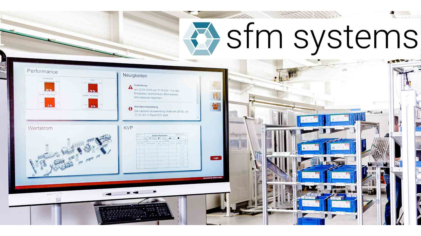Logo SFM Systems Digital Shopfloor Management