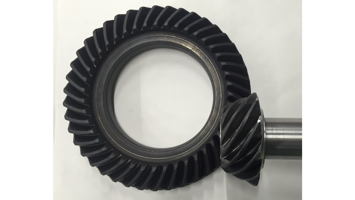 Logo Hypoid Spiral Bevel Gear and Pinion