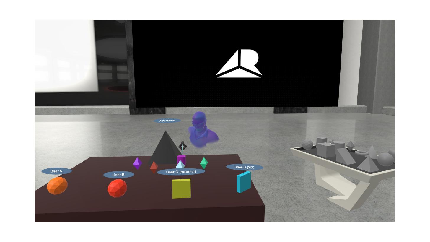 Logo Arthur VR Collaboration Suite
