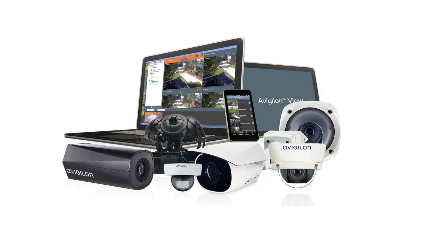 Logo Avigilon video surveillance solutions
