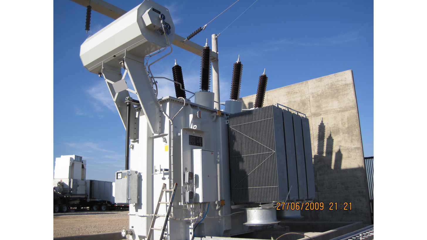 Logo Power transformers up to 300 MVA 525 kV