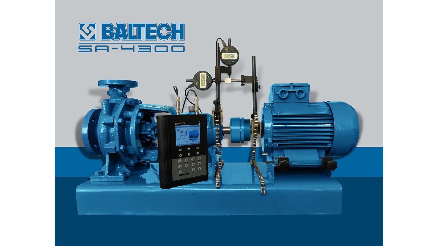 Logo Wellenausrichtungssystem BALTECH SA-4300