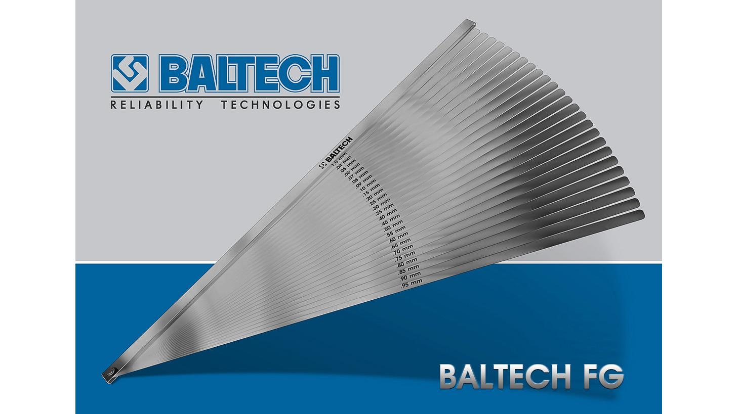 Logo Set of feeler gauges BALTECH FG