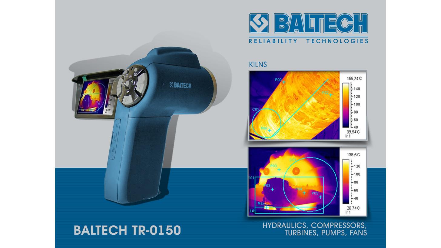 Logo Wärmebildkamera BALTECH TR-0150