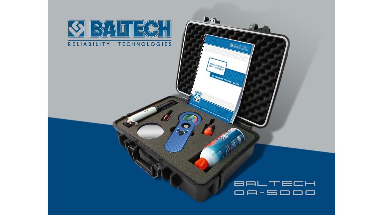 Logo oil analyzer BALTECH OA-5000