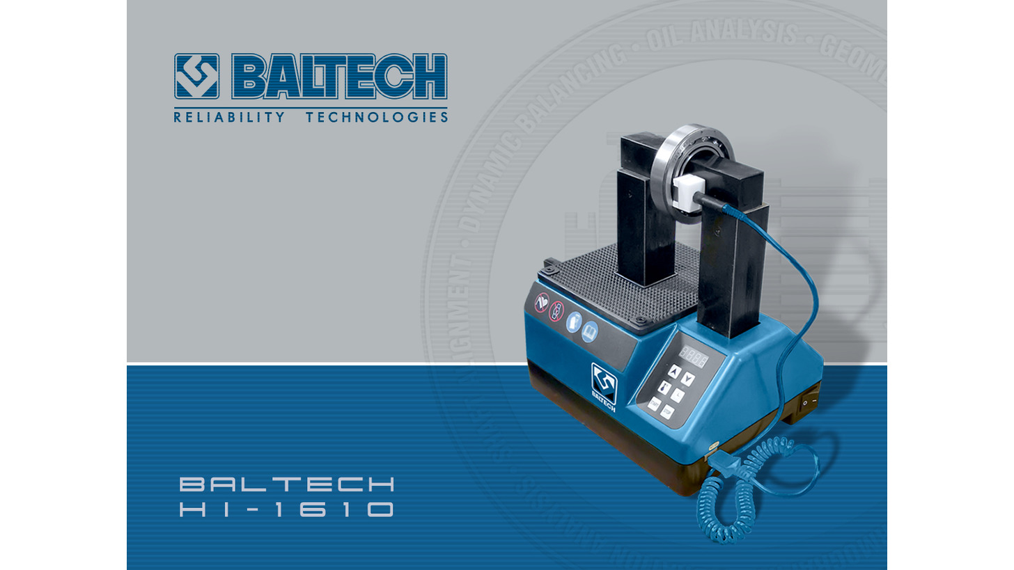 Logo induction heater BALTECH HI-1610