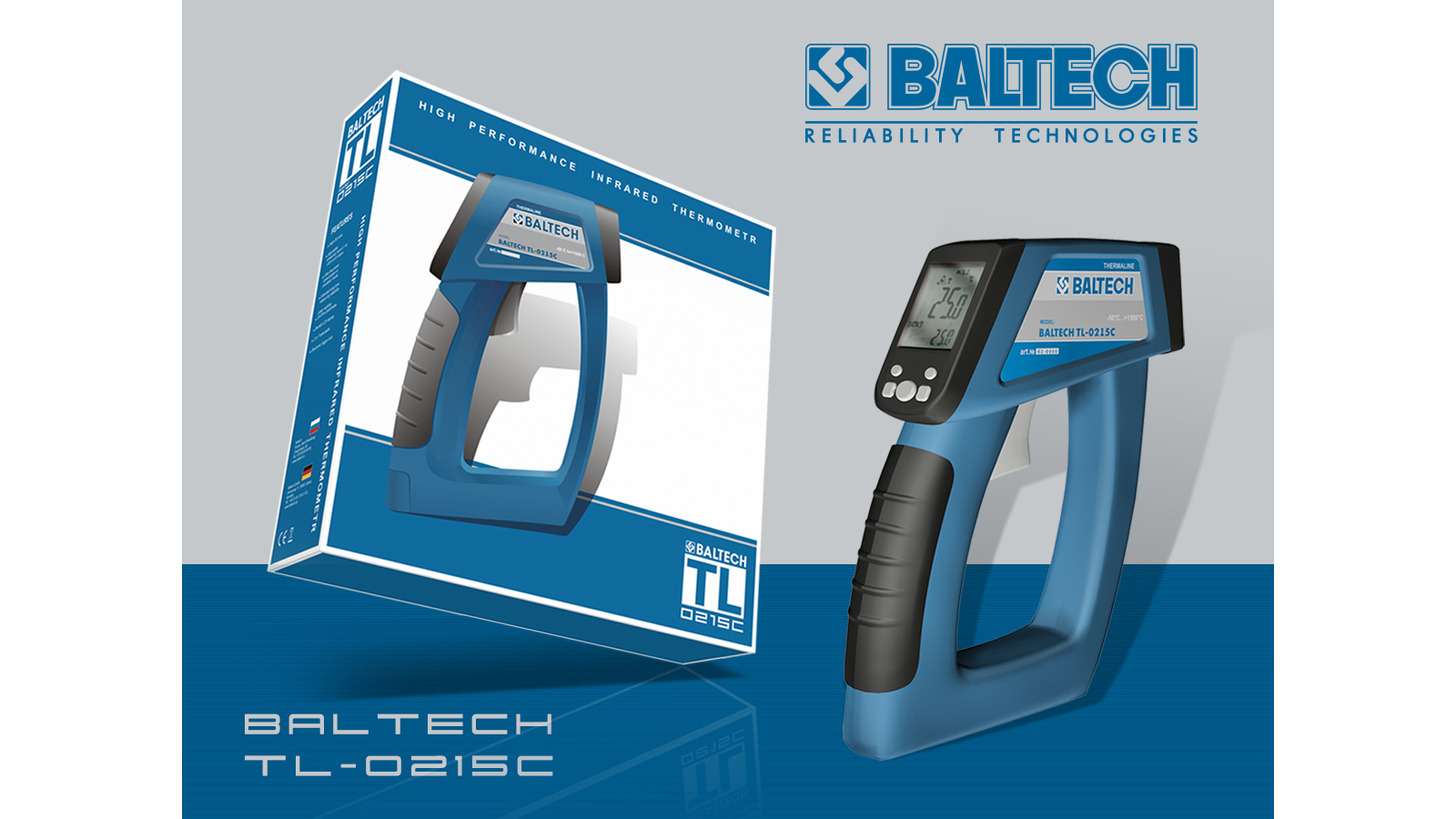 Logo Laser thermometer BALTECH TL-0215C