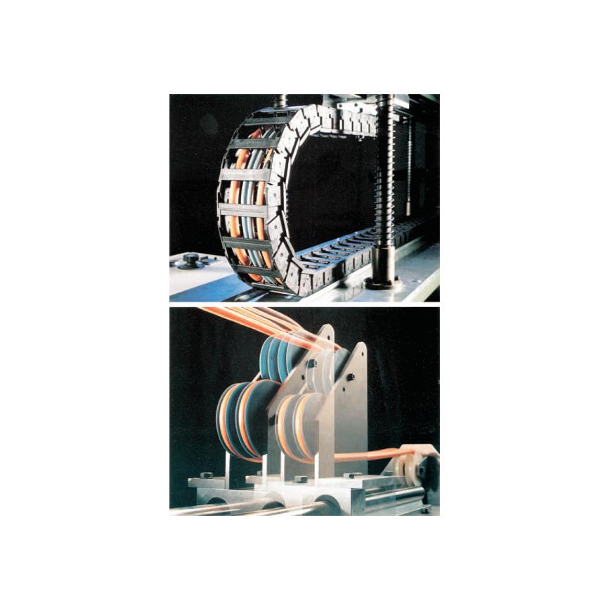 Logo Leitung zum Einsatz in Industrie-Robotern und Schleppkettenbetrieb