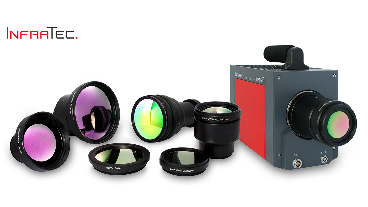 Logo infrared camera ImageIR® 8300 hp
