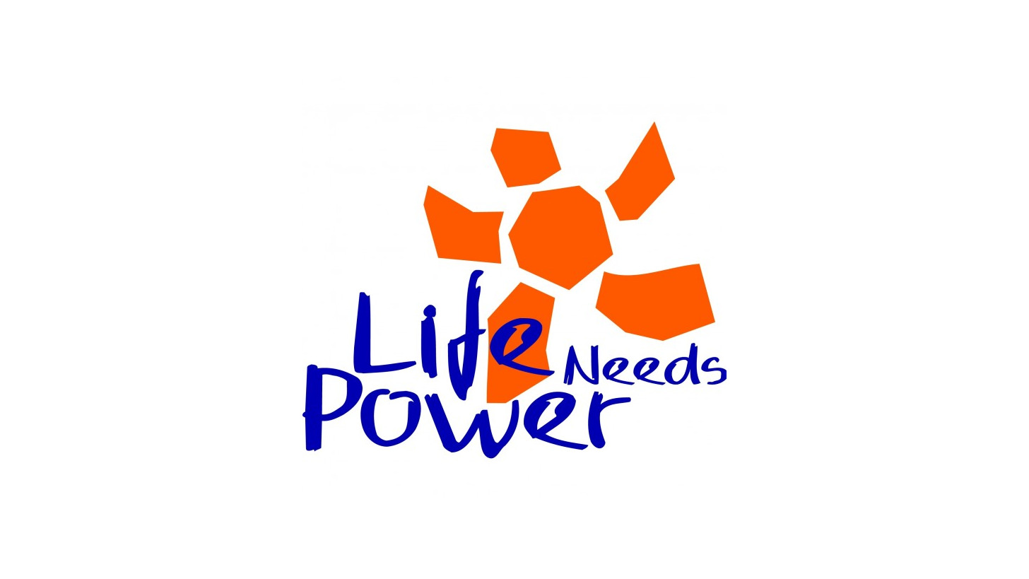 Logo Life Needs Power Halle 13, D30
