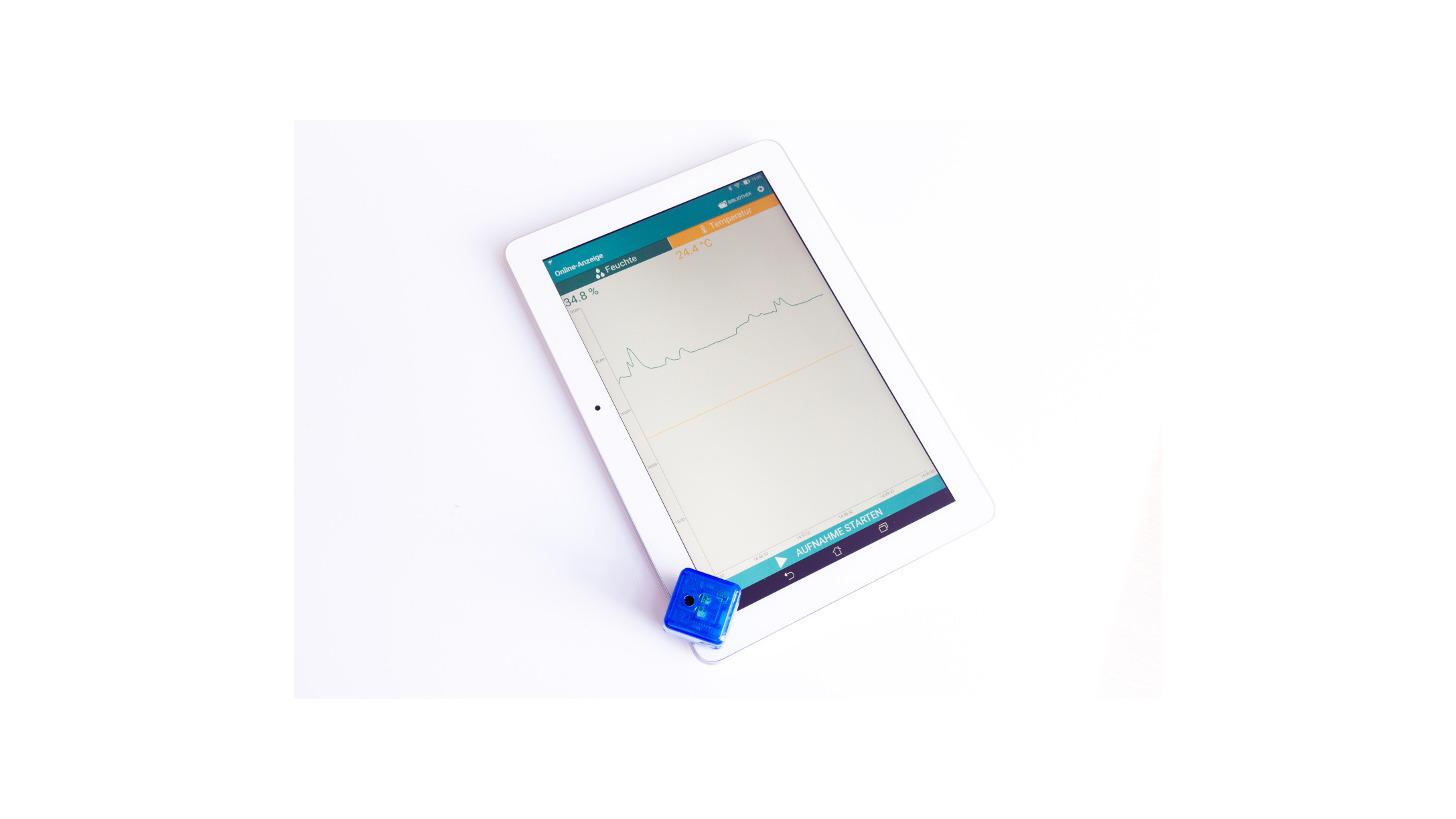 Logo blueDAN - Mini Bluetooth 4.0 Datalogger