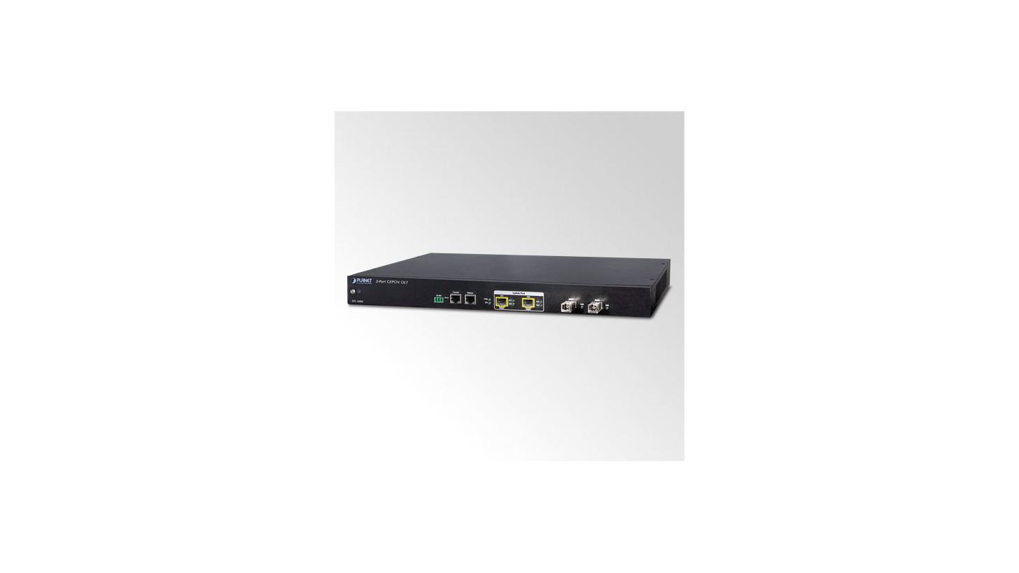 Logo 2-PON Port GEPON OLT with Uplink 2-Port 1000Base-X SFP Slot (EPL-2000)