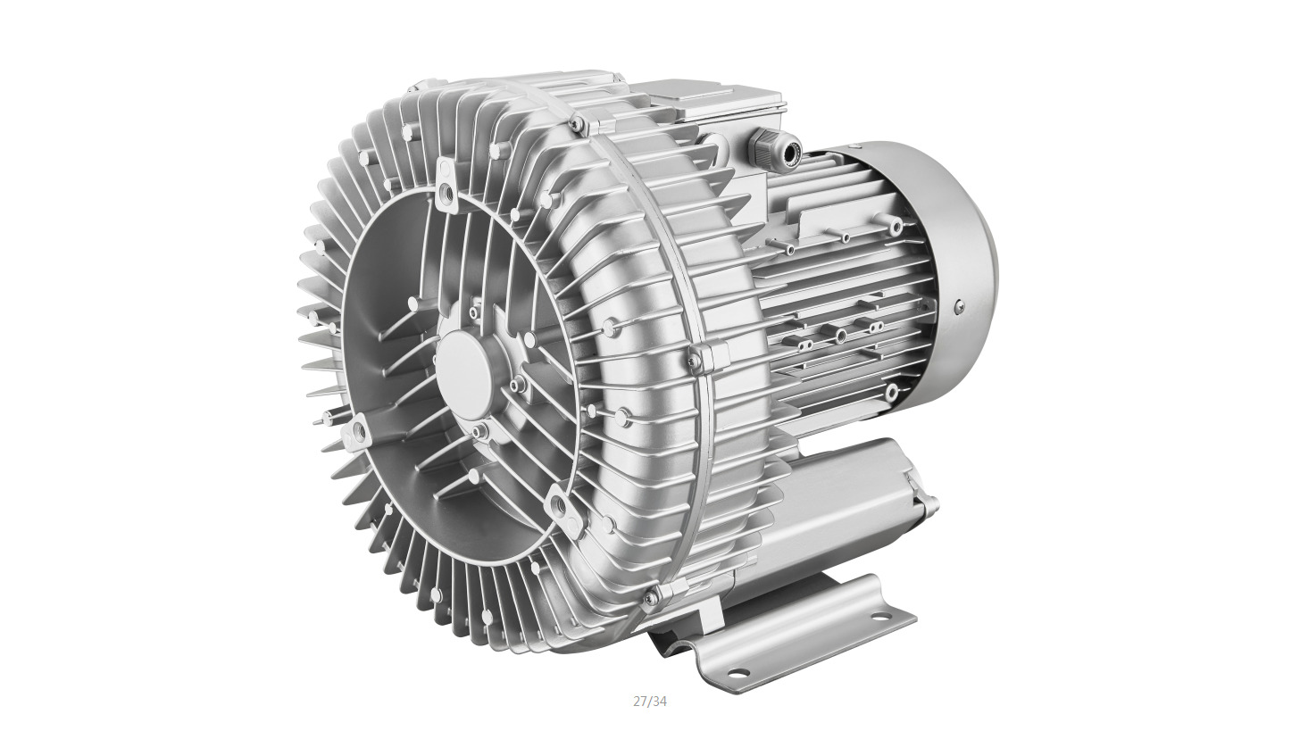 Logo Side channel vacuum pump/compressor