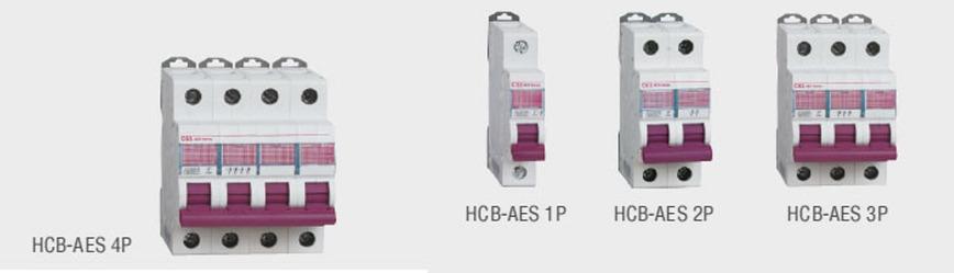 Logo HCB-AES Mini Circuit Breaker