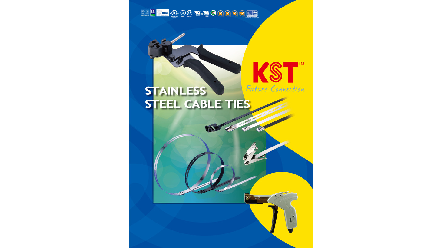 Logo Stainless steel cable ties