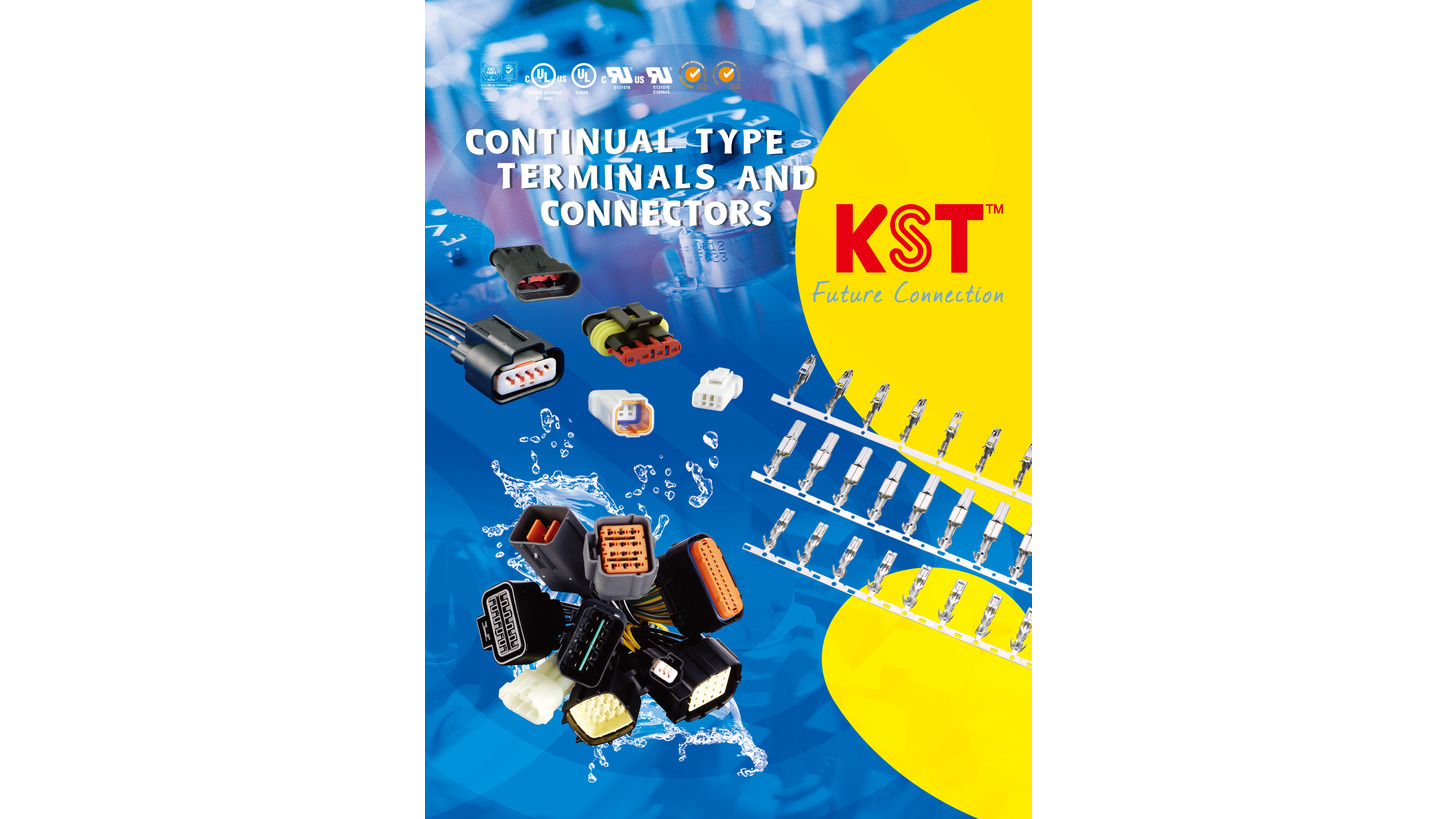 Logo Continual Type Terminals and Housings
