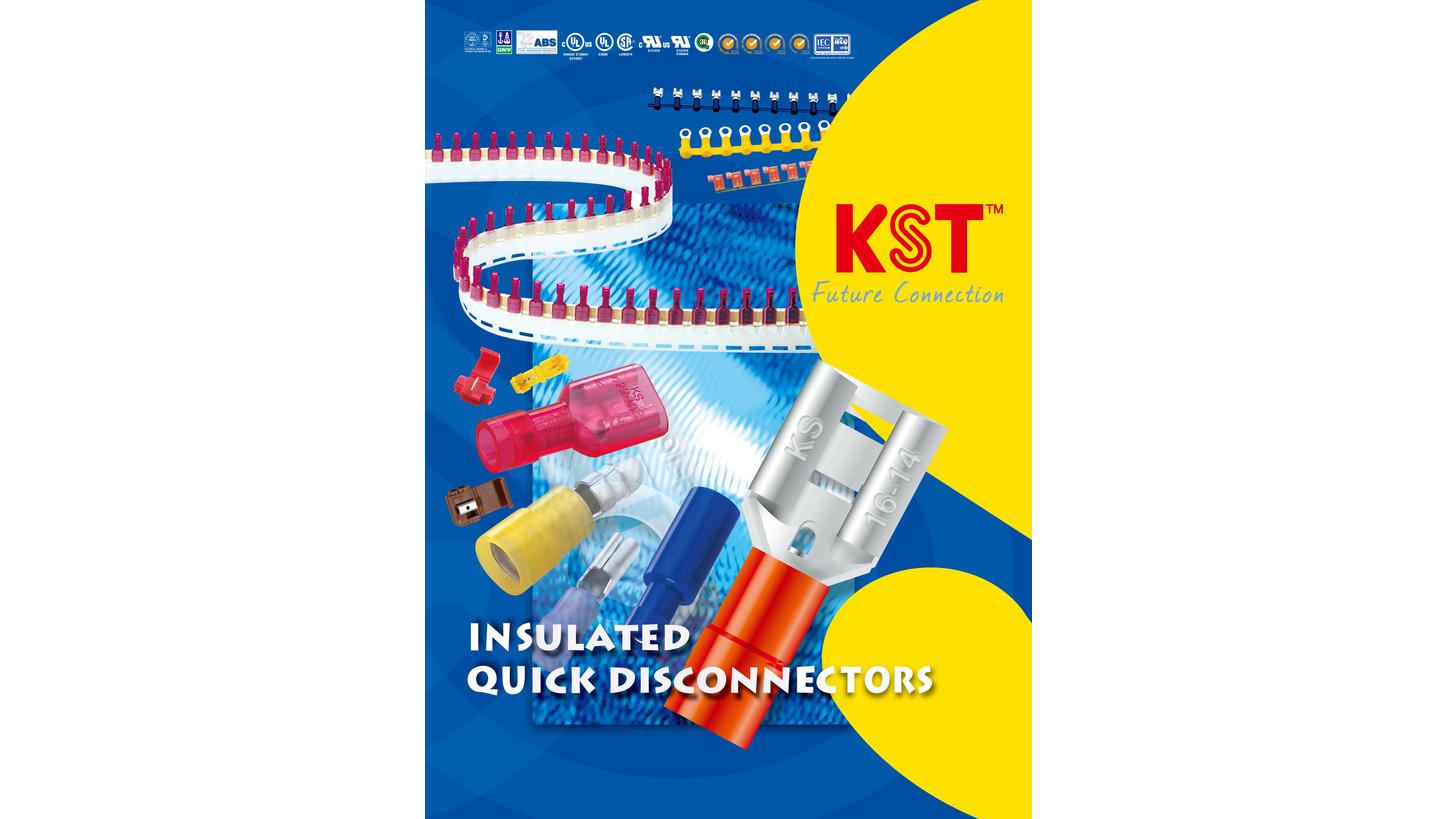 Logo Solderless insulation terminals