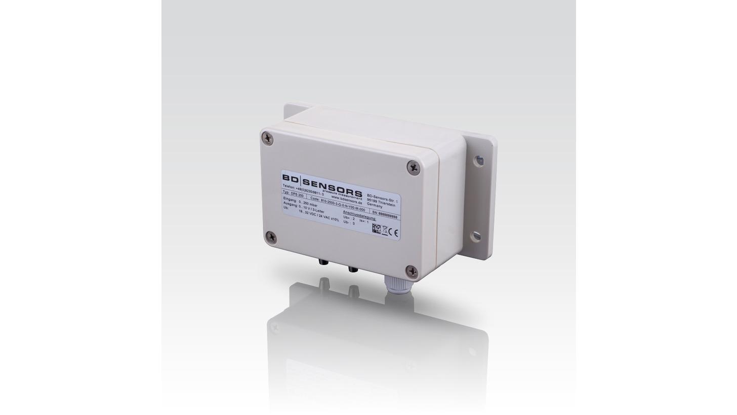 Logo DPS 200 - Differenzdrucktransmitter für Gase und Druckluft