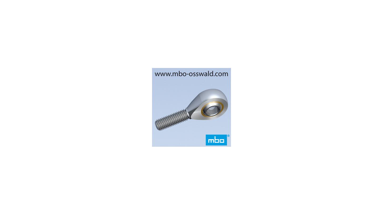 Logo Rod ends DIN ISO 12240-4 male thread