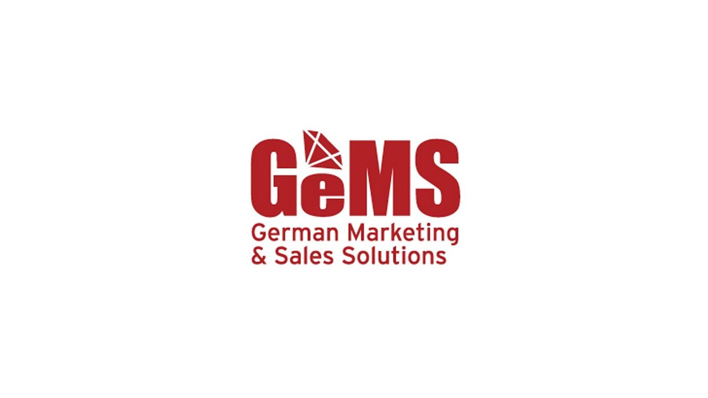 Logo GeMS - German Marketing & Sales Solutions