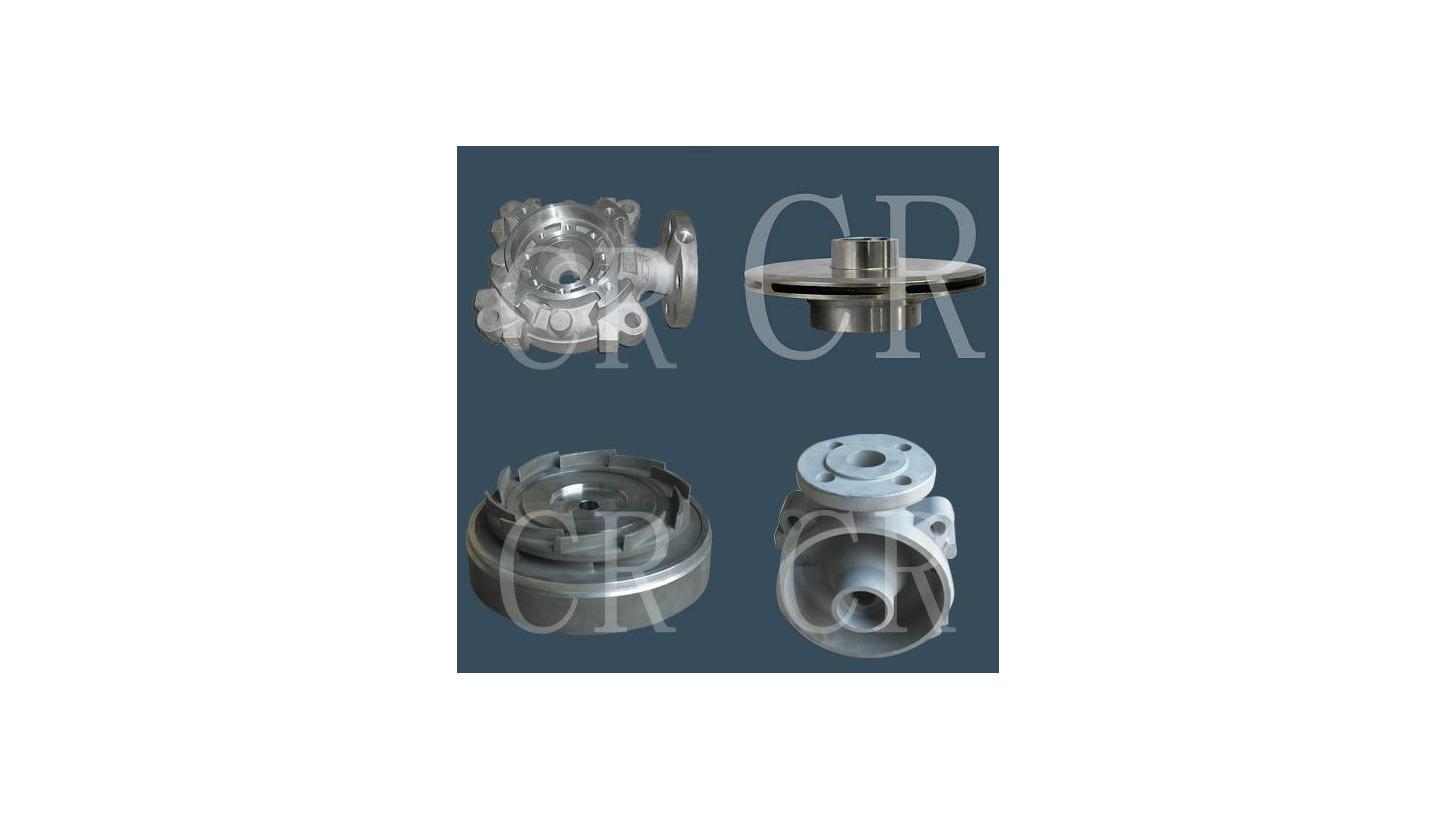 Logo Impeller, Pump body, Pump parts, Valve body parts, investment casting