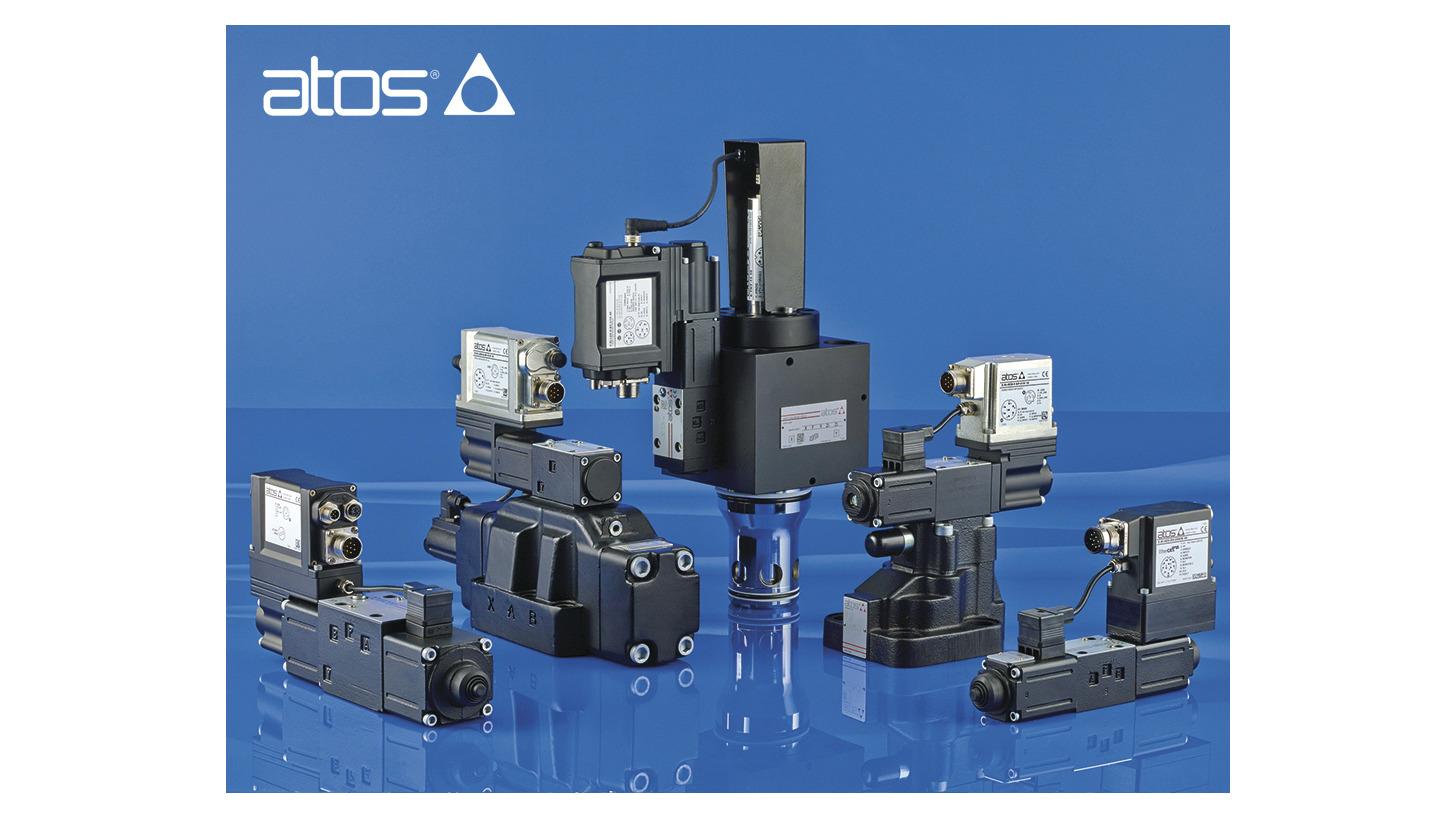 Logo 100% digital electrohydraulics