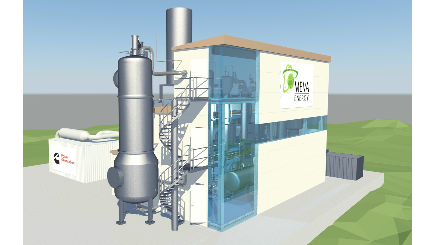 Logo CHP from biomass gasification