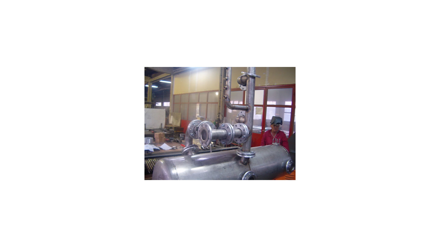 Logo Production of equipment made of construction steel