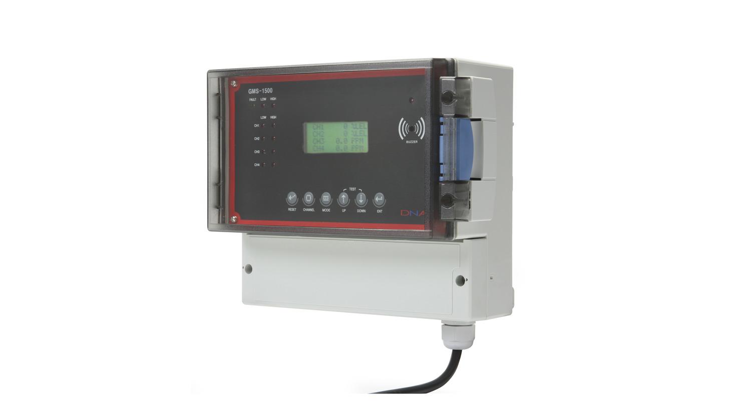 Logo Monitoring Unit of Gas Detectors GMS-1500