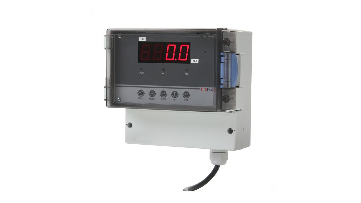 Logo Monitoring Unit of Gas Detectors GMS-1000