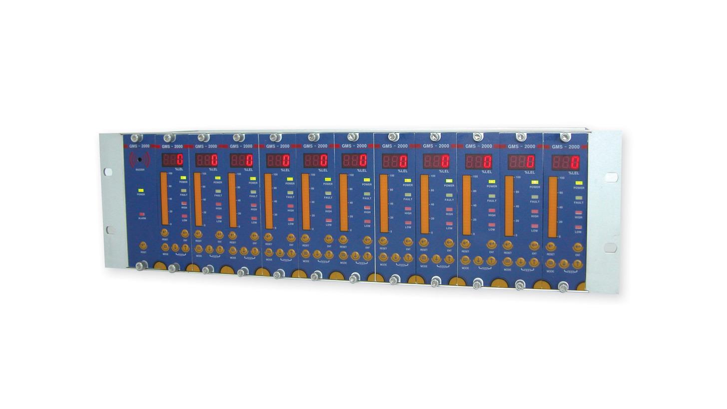 Logo Monitoring Unit of Gas Detectors GMS-2000