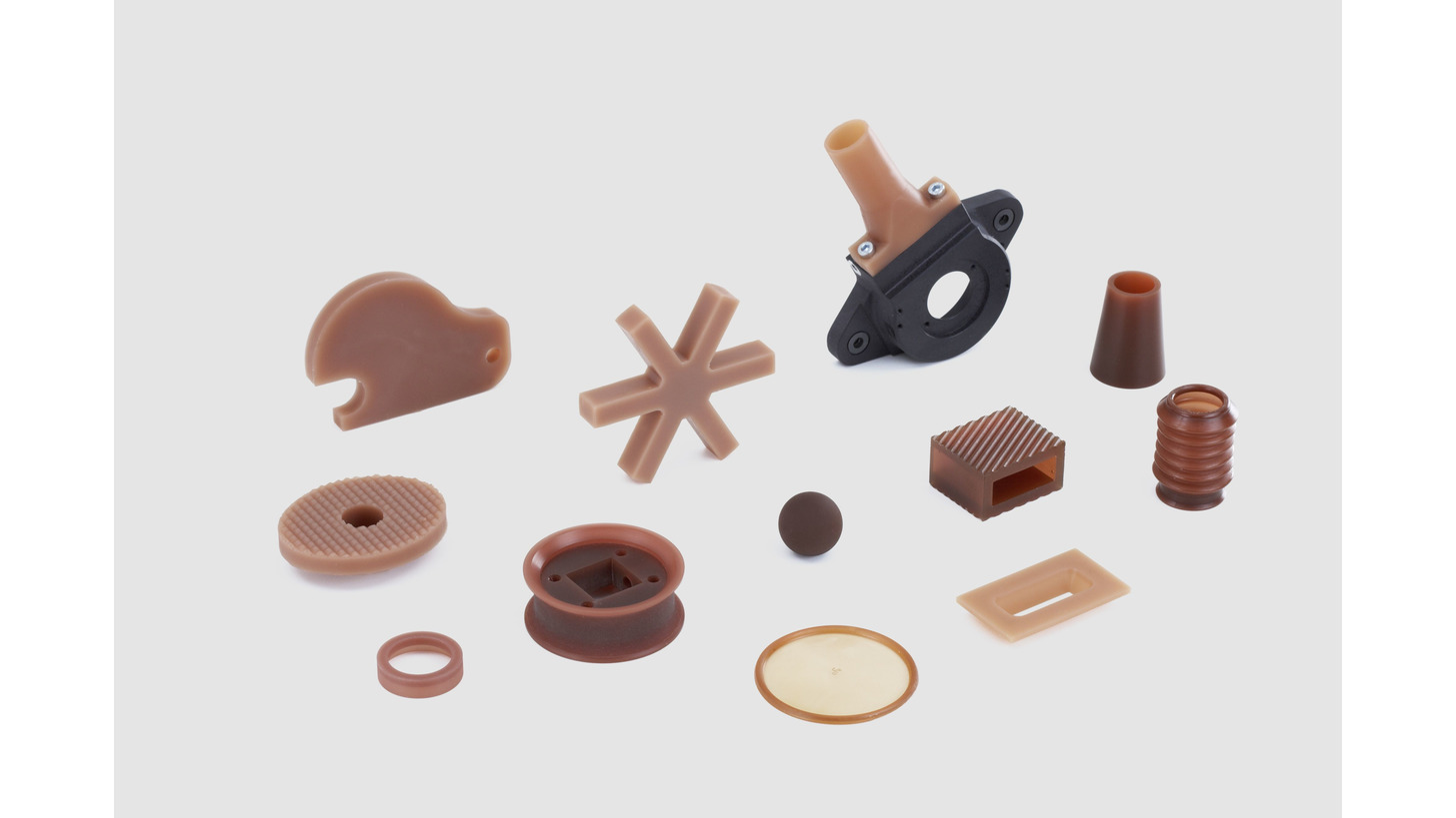 Logo Polyurethane cast and moulded parts