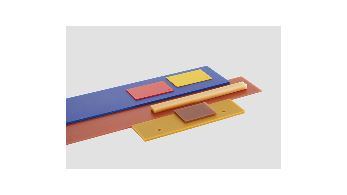 Logo Platten aus Polyurethan u. Vulkollan®