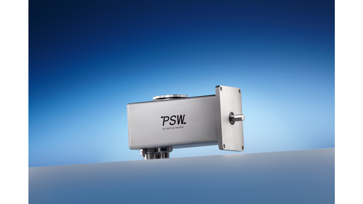 Logo Positioning system PSW 31_-8 with IP 68