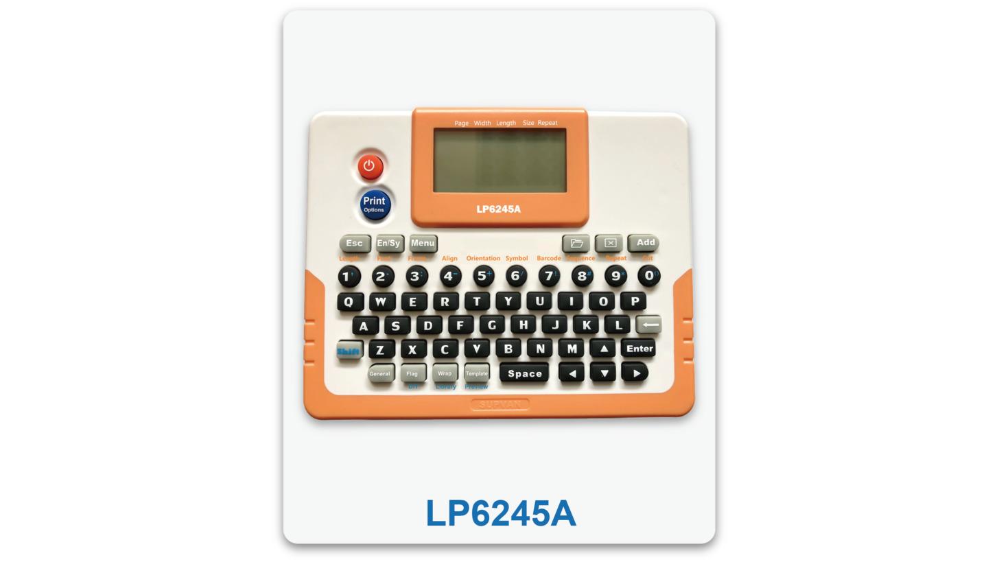 Logo Supvan LP6125A LP6185A LP6245A