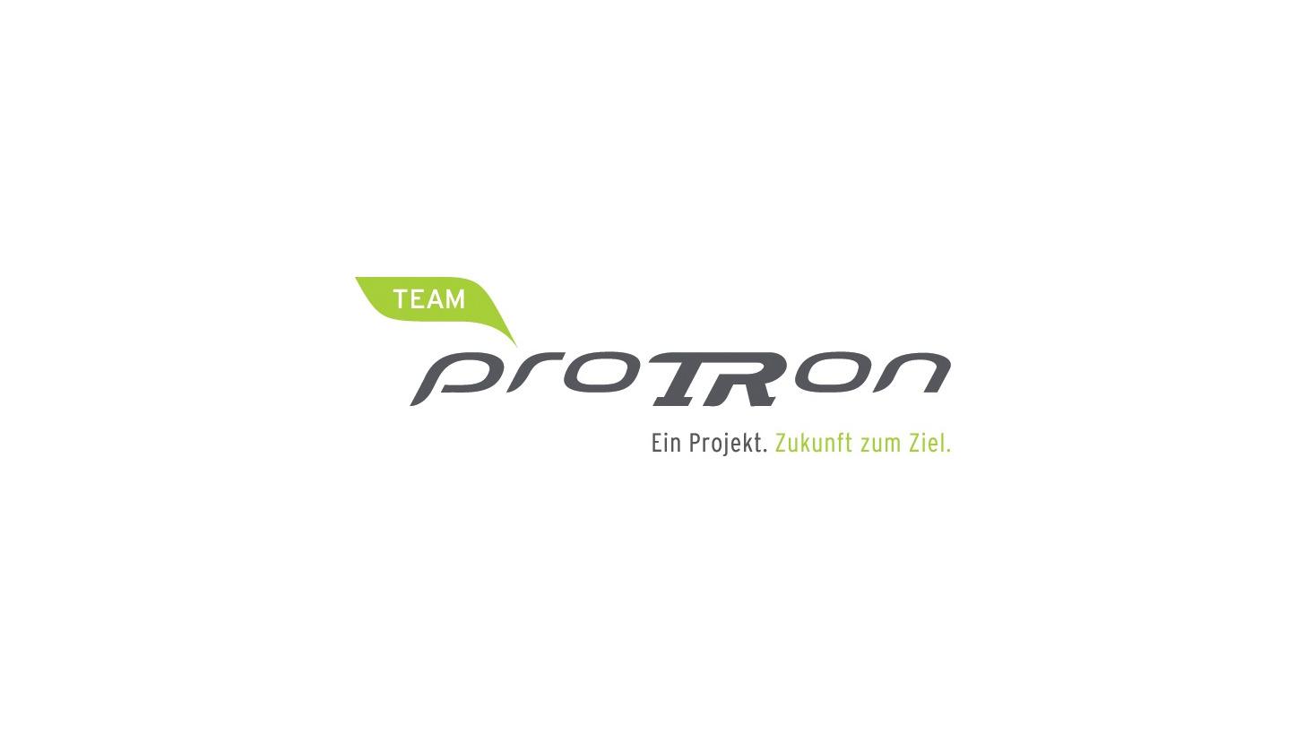Logo Team proTRon - Ein Projekt. Zukunft zum Ziel.