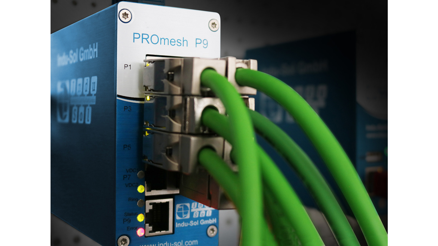 Logo PROFINET/Ethernet Switch PROmesh P9