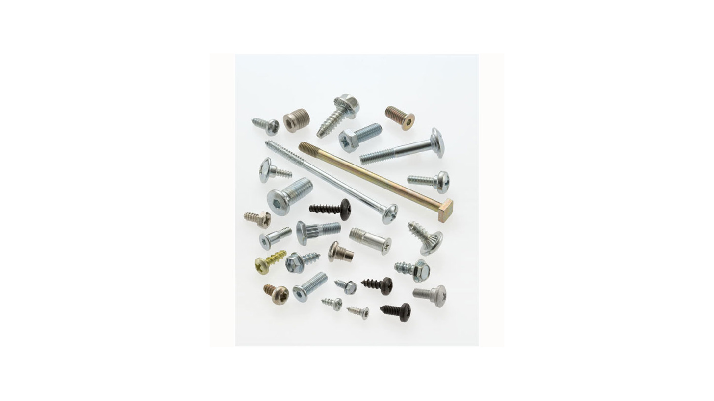 Logo Fasteners for household appliances.