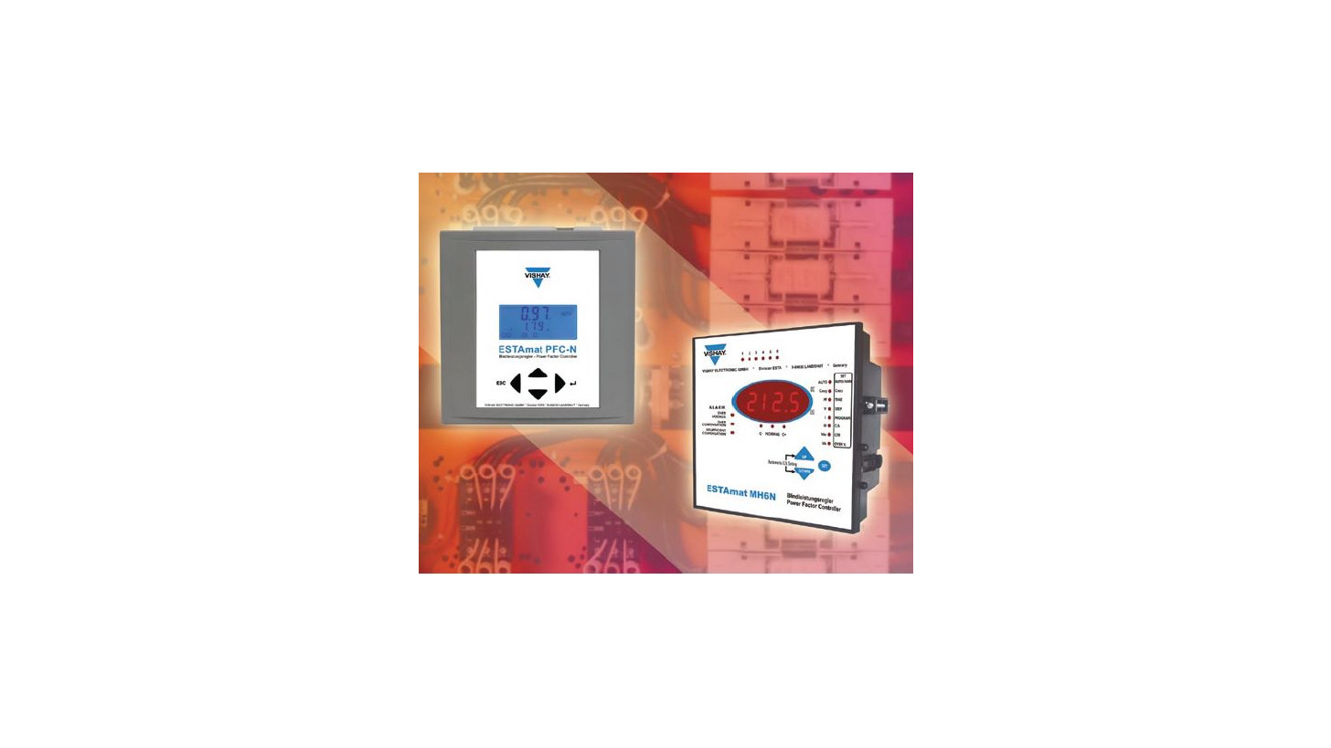 Logo Capacitors for power factor controllers