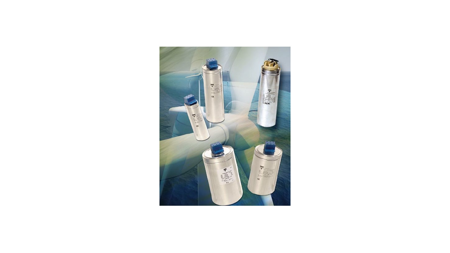 Logo Capacitors for low-voltage systems/Low voltage capacitor